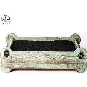 מיטת עץ מעוצבת-על העצם M