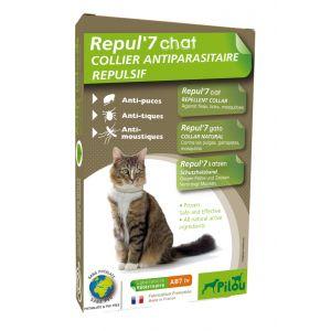 הדברה טבעית קולר לחתול בוגר