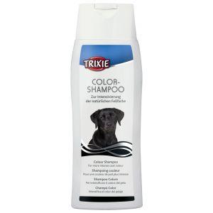 TRIXIE שמפו לכלבים עם פרווה שחורה/כהה