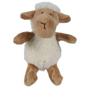 בובת כבשה כקטיפה לחתול