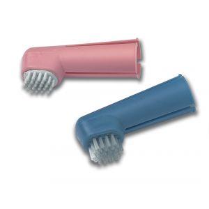 זוג מברשות גומי לניקוי שיניים