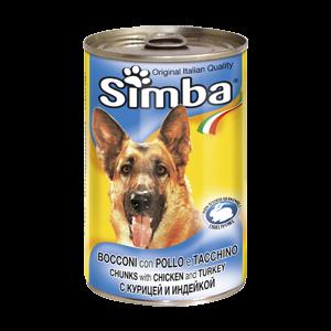 סימבה כלב - עוף