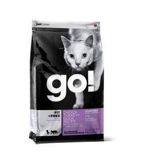 גו! חתול עוף הודו וברווז ללא דגנים 7.3 ק
