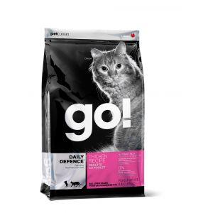 גו! חתול עוף דיילי דיפנס 7.3 ק