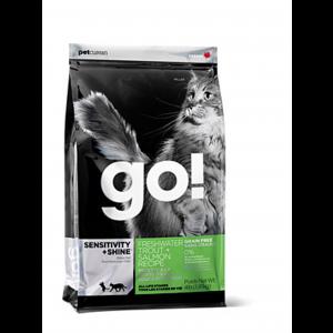 גו! חתול סנסטיב פורל וסלמון 7.3 ק