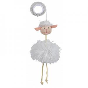 צעצוע כבשה תלויה על גומי