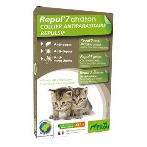 הדברה טבעית קולר לחתול גור