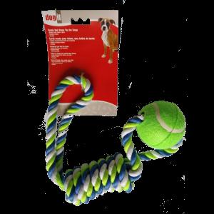 חבל צבעוני גדול + כדור