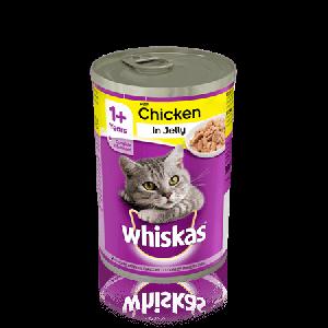 ויסקס שימור לחתול עוף  - Whiskas