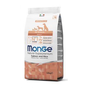 מונג' כלב בוגר סלמון ואורז