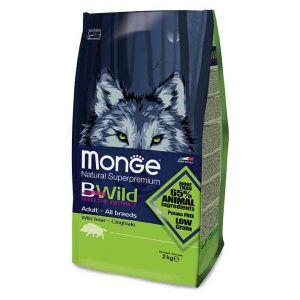 מונג' כלב בוגר בשר חזיר - Bwild