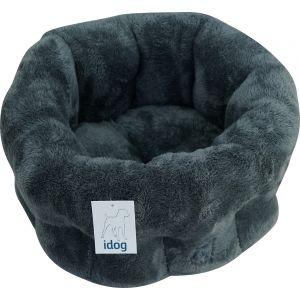 מיטה פרוותית עגולה - כחול