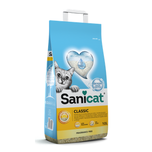 חול חתולים סניקט קלאסיק 10 ליטר