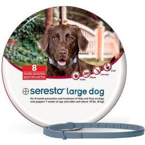 קולר סרסטו לכלב גדול - מעל 8 ק