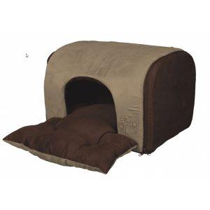 בית מרופד לחתול/כלב קטן