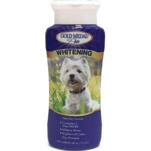 שמפו גולד מדל לכלבים וחתולים לבנים