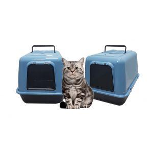 שירותים סגורים לחתול פרימה