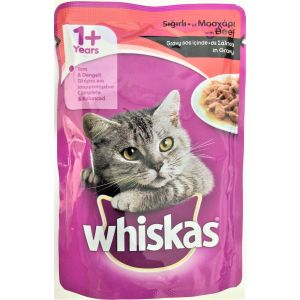 ויסקס פאוץ' בקר - Whiskas