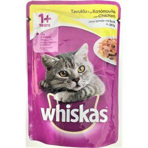 ויסקס פאוץ' עוף - Whiskas