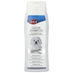TRIXIE שמפו לכלבים עם פרווה לבנה/בהירה