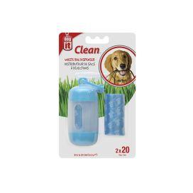 DOG-IT מתקן לשקיות איסוף צרכים - כחול