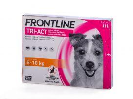 פרונטליין TRI-ACT לכלבים במשקל 5-10 ק