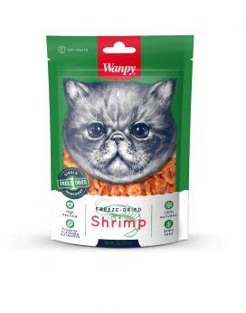 חטיף וונפי חתול שרימפס מיובש בהקפאה 20 גר'